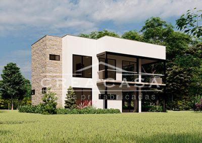 Casa Moderna de 180mts