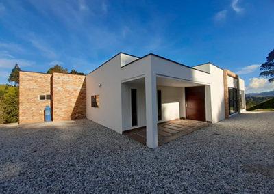 Casa Cúbica Guarne 400mts